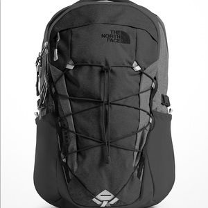 The North Face: Grey Borealis Backpack (Used Once)